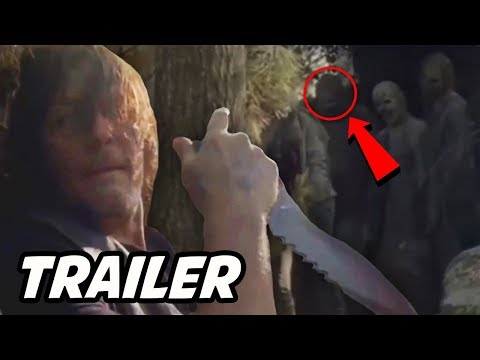 Daryl Escapes Cave Teaser! The Walking Dead Season 10 Trailer Breakdown Explained & Theory