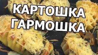 Картошка гармошка в духовке. Запеченный картофель от Ивана!