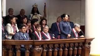 Tema: Saludo del Congreso de la República por el 467.°Aniversario de la UNMSM