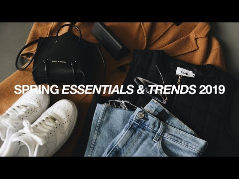 TOP 8 SPRING Essentials & Trends 2019 / Men's Streetwear Essentials Mp3