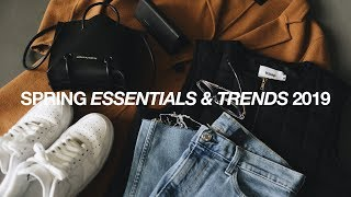 TOP 8 SPRING Essentials & Trends 2019 / Men's Streetwear Essentials