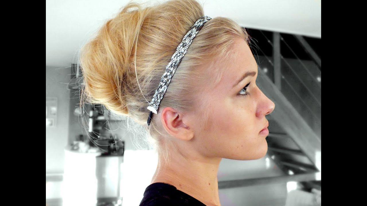 tutoriel coiffure audrey hepburn