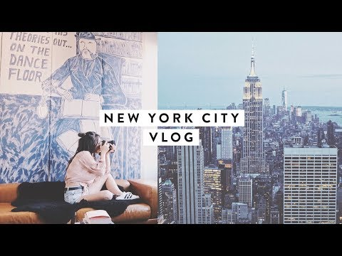 I Went to New York City & Met a Subscriber! | TRAVEL DIARY