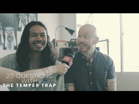 20 Questions with The Temper Trap | Lush 99.5FM x Bandwagon