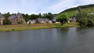Schloss Lieser from the Mosel Cruise