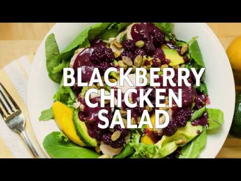 Queen of Tarts Blackberry Chicken Salad