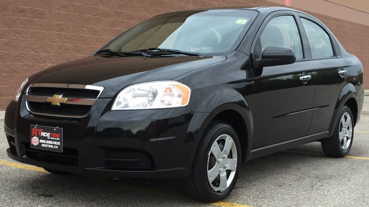 Delightful 2011 Chevrolet Aveo LS   Automatic, A/C, Human Powered Windows, CRAZY LOW  KMs   YouTube