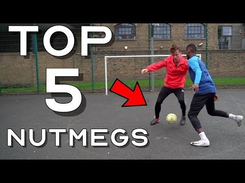 TOP 5 EASY BUT CRUEL WAYS TO NUTMEG YOUR OPPONENT - PANNA SKILLS Ft. @streetpanna