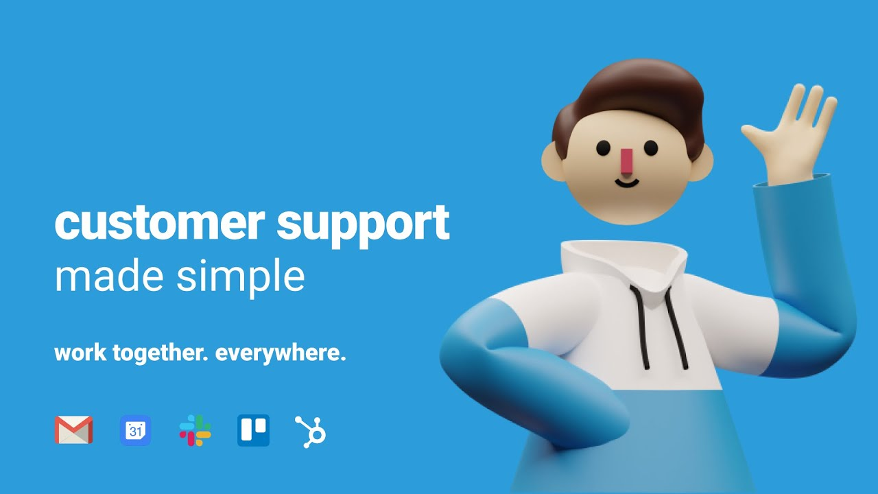 How to deliver Customer Support from Gmail