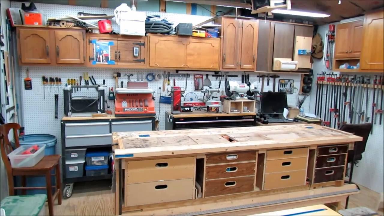Backyard Woodworking Shop