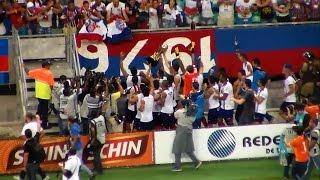 Bahia 6 X 0 Vitória da Conquista. Bahia Campeão Baiano 2015. (3/5/2015)