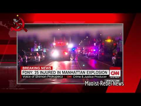 BREAKING NEWS: Bomb in NYC Injures 25