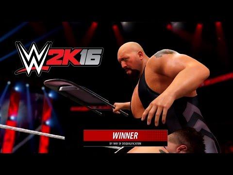 WWE 2K16 Universe #3 : Big Show Surpeendendo