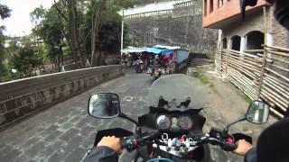 Bajando al Santuario de Nuestra Señora de las Lajas - Ipiales - Nariño - Colombia