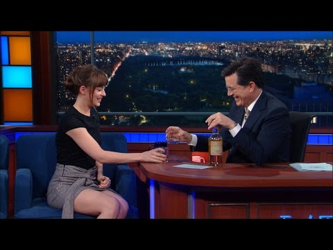 Stephen and Dakota Johnson Drink Tequila