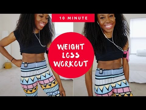 FULL 10 Minute Weightloss Workout at Home (THIS WORKS)