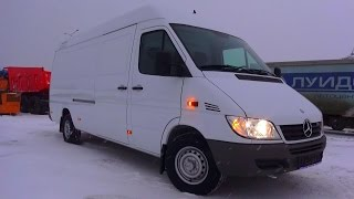2015 Mercedes-Benz Sprinter Classic 311 Cdi. Start Up, Engine, And In Depth Tour.