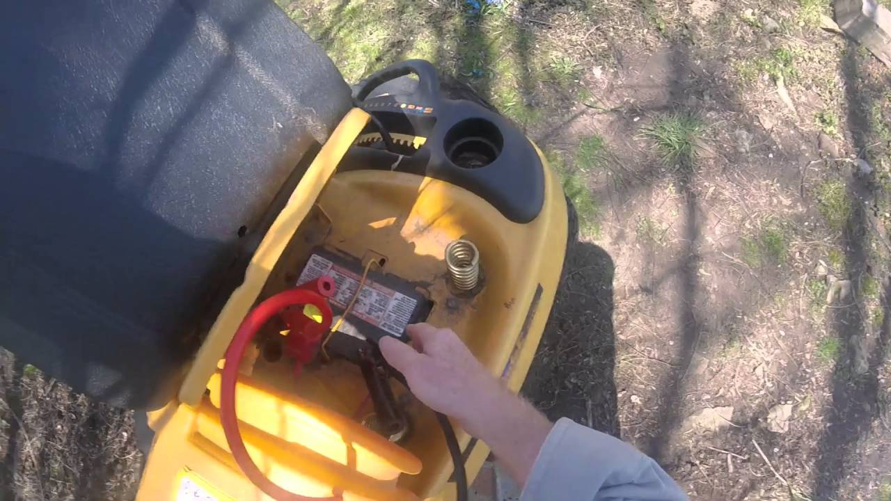 Jump Start A Cub Cadet Riding Mower