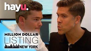 Fredrik & Ryan Public Fight Gets Ugly | Million Dollar Listing New York