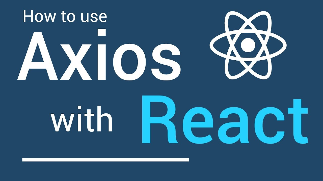 Using Axios with React