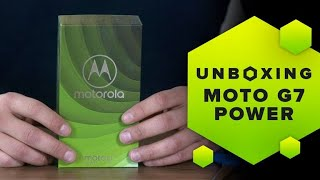 Unboxing Moto G7 Power