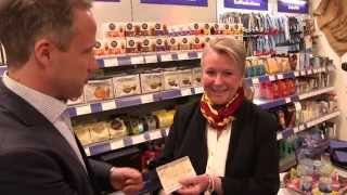 Gold-Markenkampagne 2014: Kundin von euronics XXL Baumann/Bayreuth gewinnt Hauptpreis