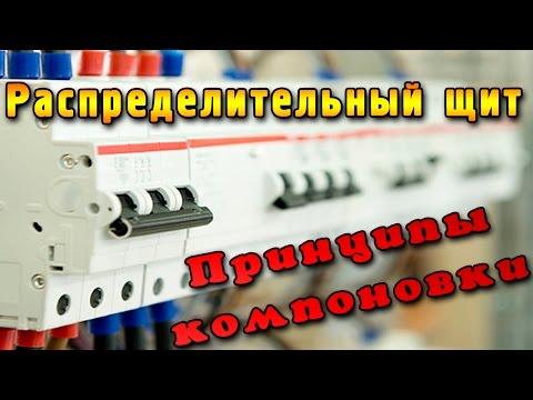 видео: Распределительный щит. Внутренняя компоновка автоматов и УЗО при сборке