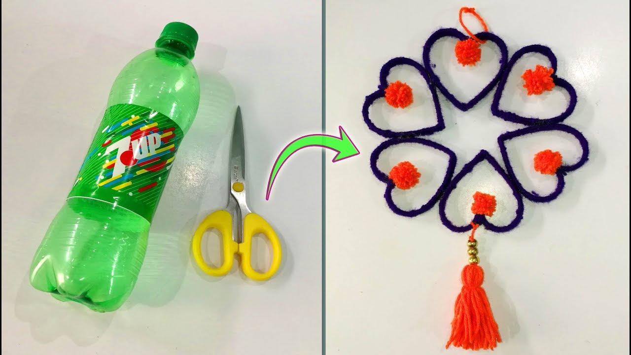 Diy Waste Bottles Reuse Idea Empty Plastic Bottle Craft Idea Plastic Bottle Reuse Idea