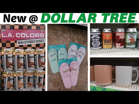 NEW FINDS @ DOLLAR TREE * COME WITH ME