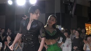 増田大介 塚田真美 組 デモンストレーションダンス チャチャチャ