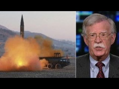 Amb. Bolton: North Korea's nuclear war threat is propaganda