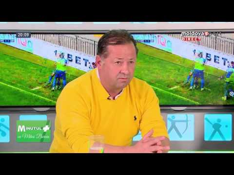 """Emisiunea """"MINUTUL +"""" cu Mihai Burciu la Moldova Sport TV // Ediția 1 // 11 aprilie 2016"""
