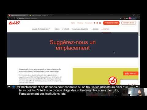 Comment BIXI utilise ArcGIS Online