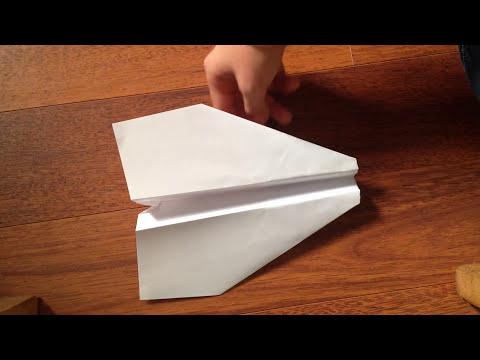 Comment Faire Un Avion En Papier Qui Vole Loin Et Longtemps