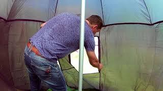 Зонт рыболовный Bushido Распаковка Обзор Переделка