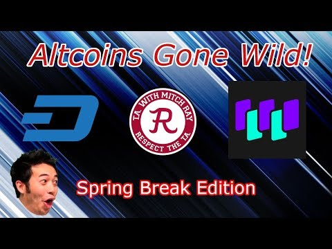 Trading Cryptocurrency : DASH Hit Target! WTC Hit All Targets! Crypto Technical Analysis