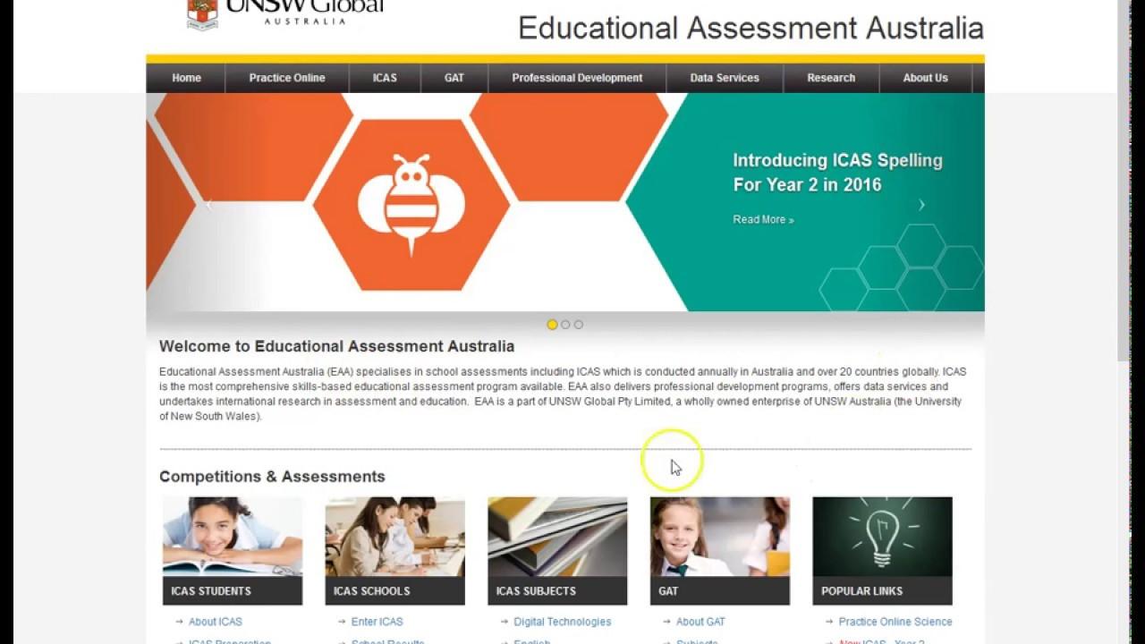 ICAS Online School Results