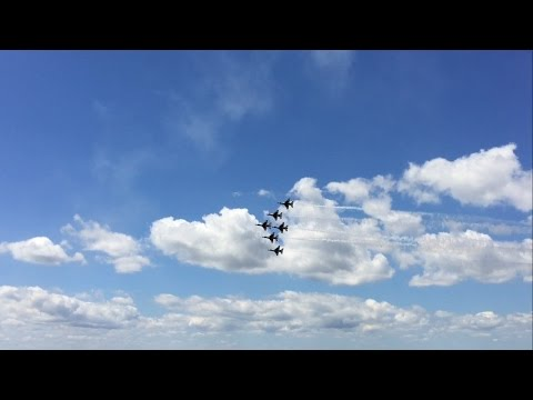 USAF Thunderbirds Practice Pensacola NAS