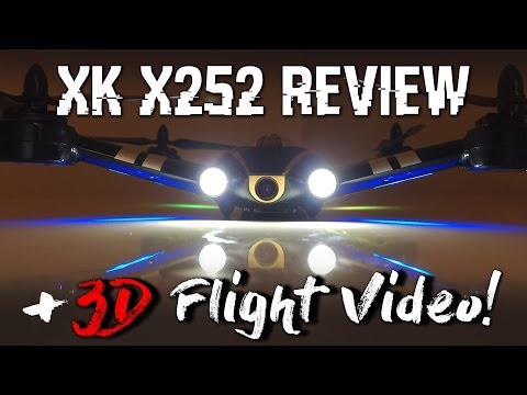 XK X252 Shuttle, Review & WICKED 3D Flying
