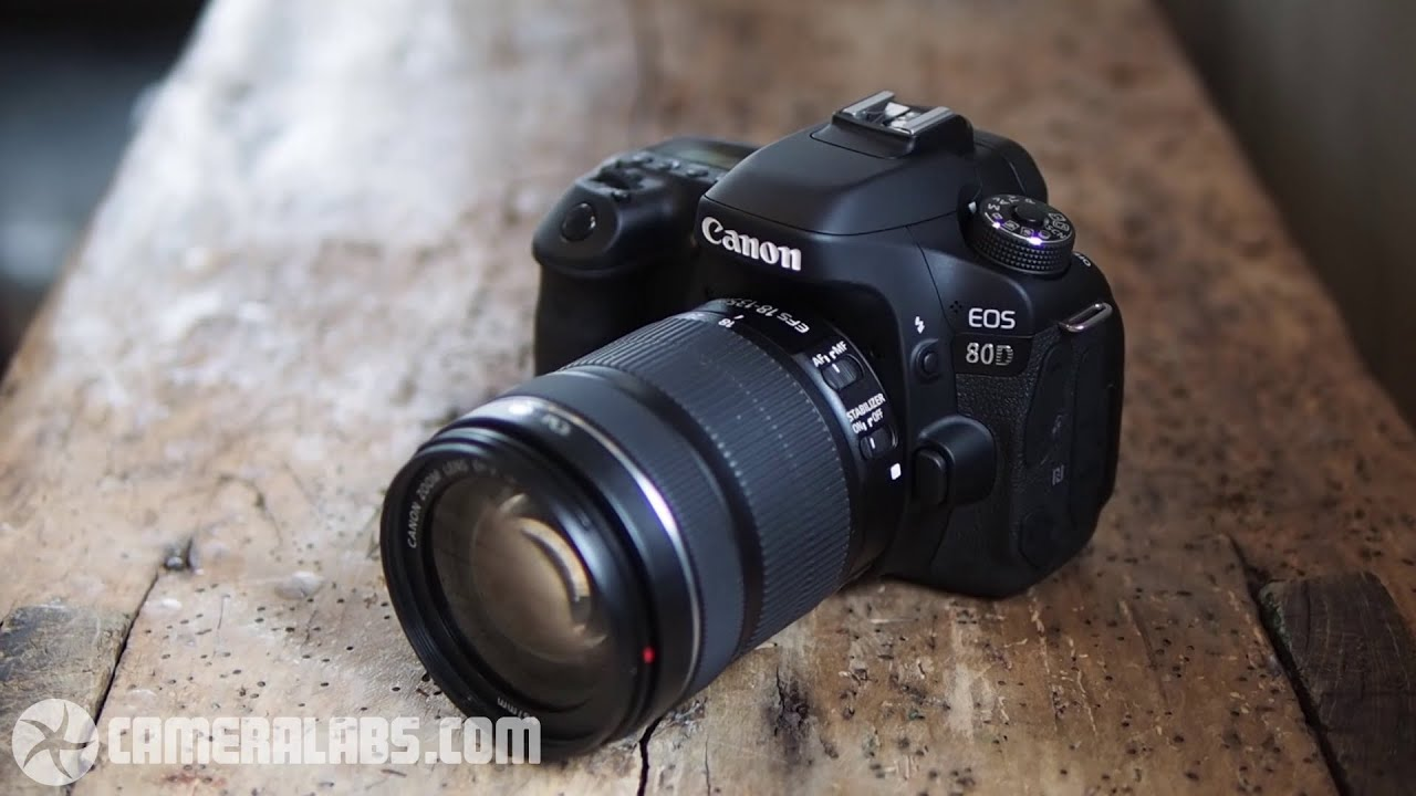 Canon EOS 80D review - a brief overview