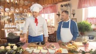 Rączka gotuje - wydanie wigilijne: zupa rybna, śledzie, makówki