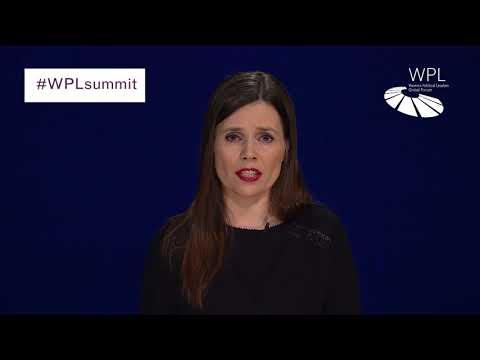 WPL Summit 2018 - Katrín Jakobsdóttir