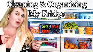 FRIDGE CLEANING AND ORGANIZATION IDEAS! LIVING WITH CAMBRIEA