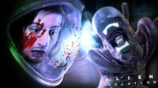 IT'S RIGHT IN-FRONT OF ME!!! || Alien: Isolation (Part 3)