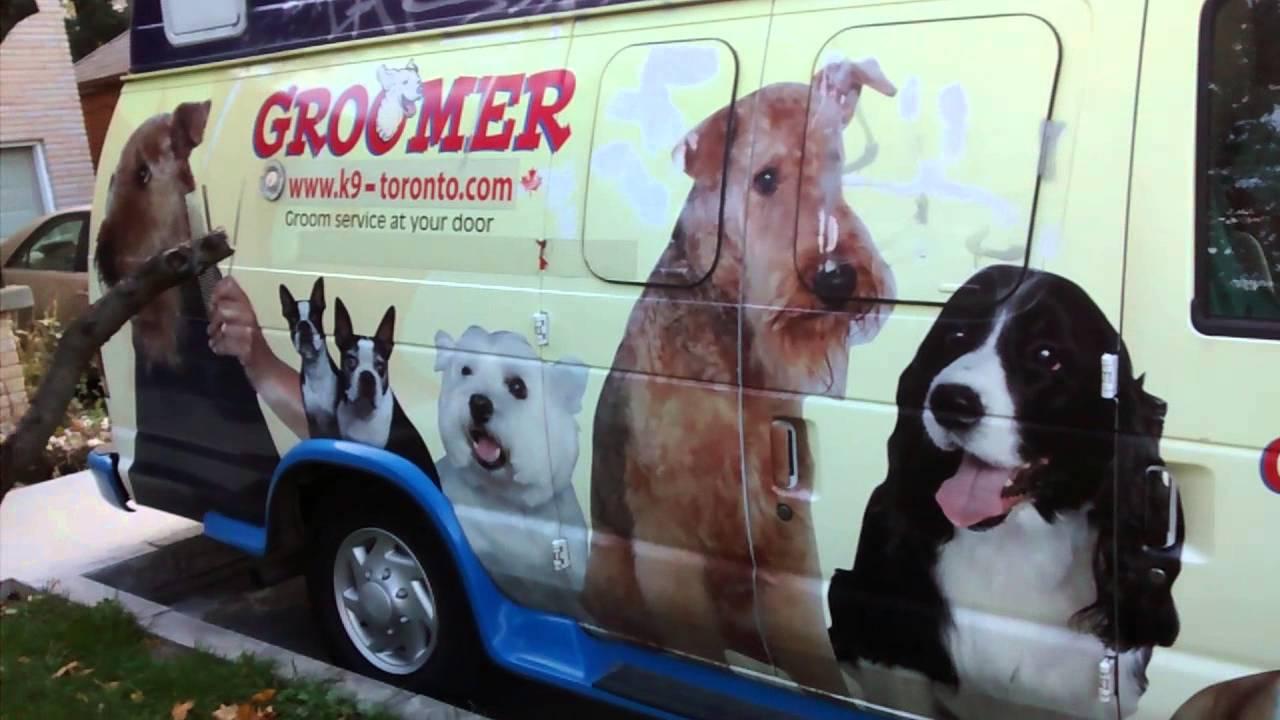 grooming vans for sale