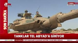Kahraman Mehmetçik Tel Abyad'a giriyor