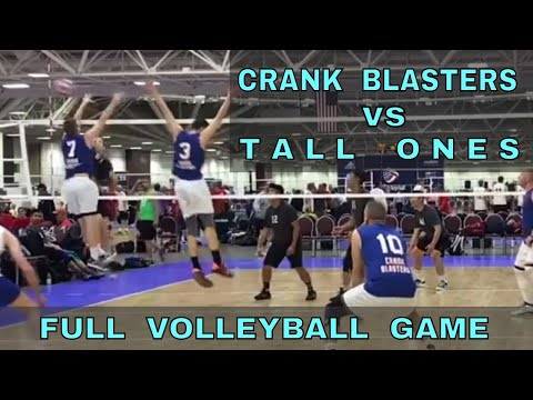Crank Blasters vs Tall Ones (FULL GAME 8 Volleyball) - USAV 2017 Nationals