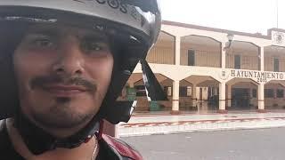 Xocchel y Hoctun en moto reto Yucatán 106