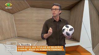Neto diz que Firmino deveria ser titular da Seleção