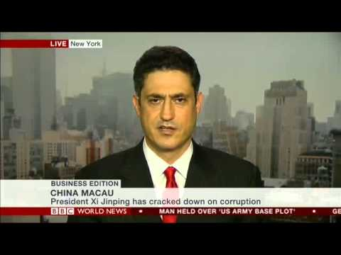 Michael Zakkour discussing Chinese luxury consumers on BBC World News